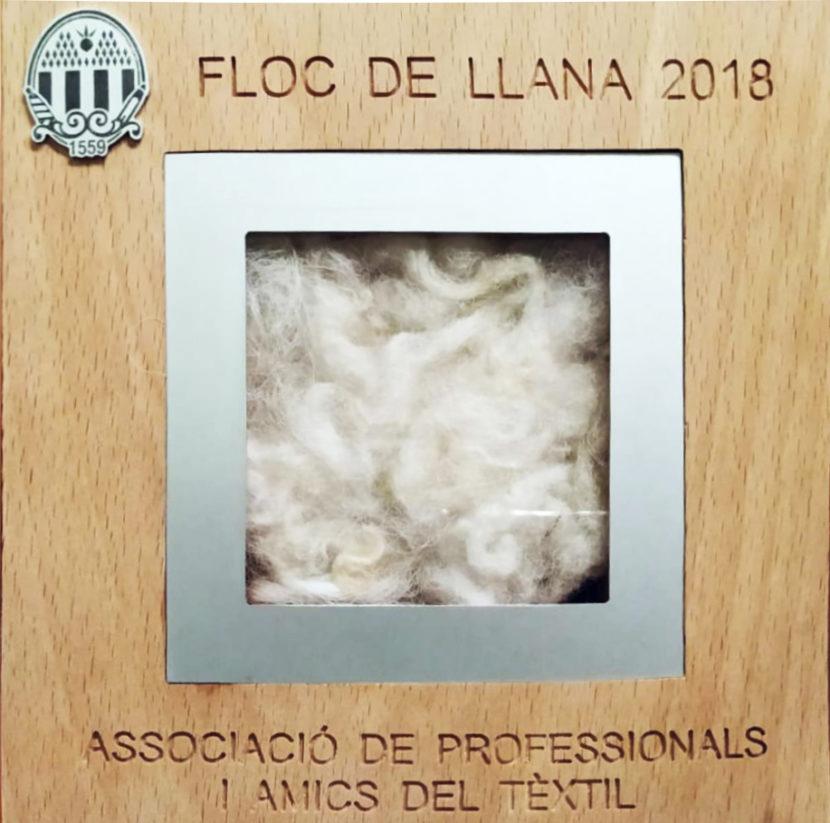 PREMI FLOC DE LLANA 2018